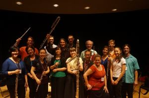 The Professional Flute Choir of the Canadian Flute Convention