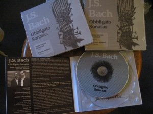 J.S. Bach: Obbligato Sonatas, fressh off the printing press!