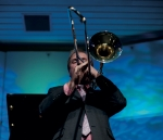 Trombonist Neal Bennett (photo by Geneviéve Lagrois)