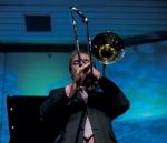 Trombonist Neal Bennett (photo by Geneviéve Lagrois)