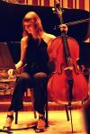 Cellist Marina Hasselberg.