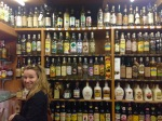 Cachaça shopping with flutist Valentina Daldegan!